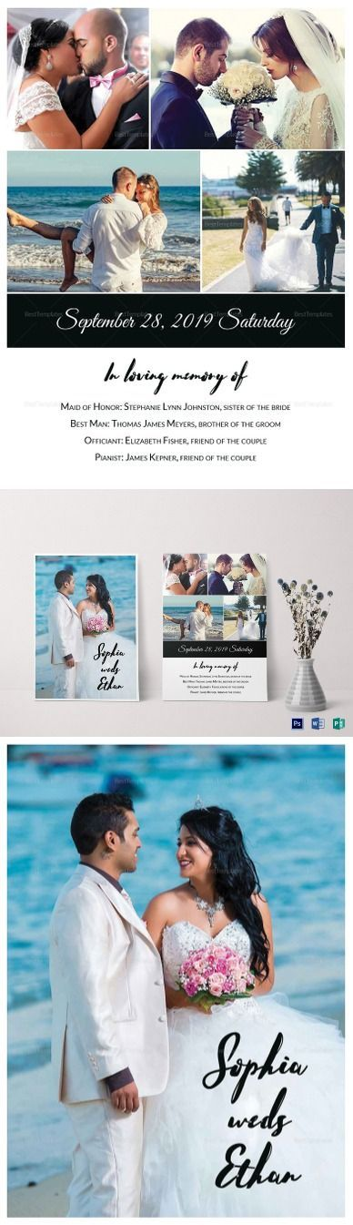Wedding Photography Invitation Template $12   Formats Included :MS Word, Photoshop, Publisher