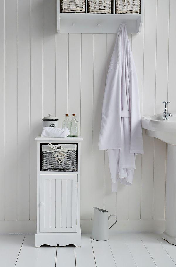 Best White Bathroom Furniture Images On Pinterest White