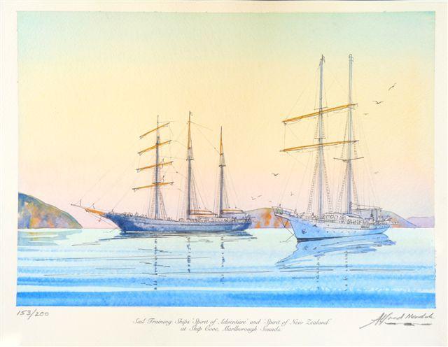 Original Paintings for Sale| Alfred Memelink Watercolours
