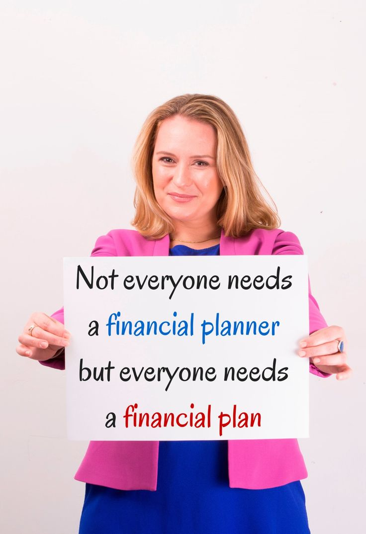 Not everyone needs a financial planner but everyone needs a financial plan #SMSF #Investing #Finance