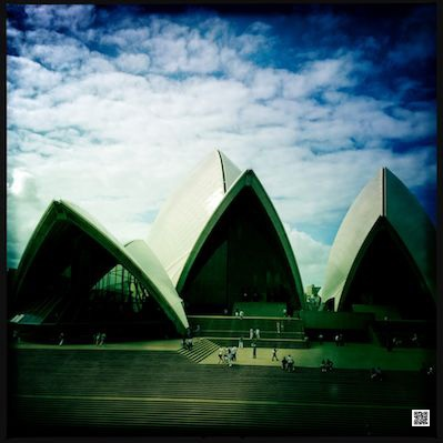 Opera House Sydney - photographed with Histamatic