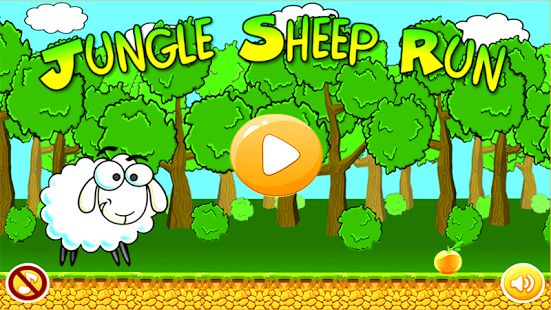 Jungle Sheep Run!!! The amazing adventure jungle run game, poor sheep so cute and lovely. One day sheep runs into the jungle to pick up fruits.But the jungle is full of danger,sheep needs your help ! Just tap the screen to make little sheep jump and get all fruits. This run game will be a best challenging running game just like mario with best levels in jungle theme. It's a fun run game with best graphics and music.