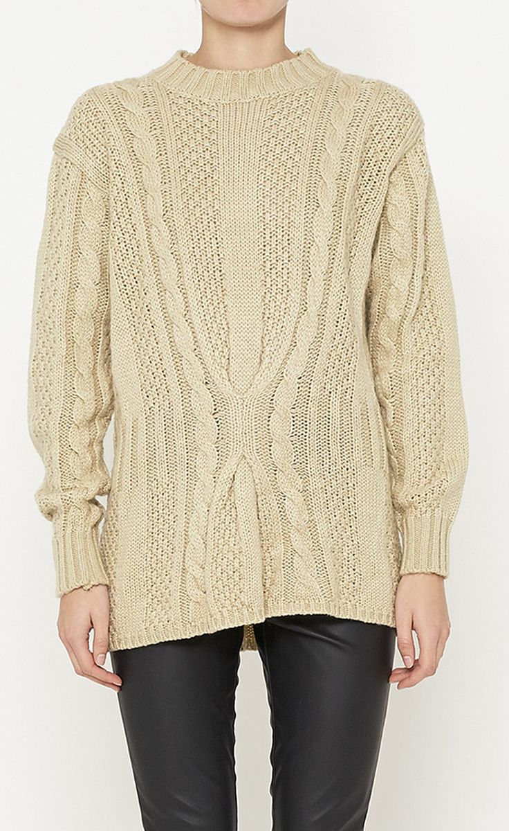 Ms. Organically Grown Oatmeal Sweater