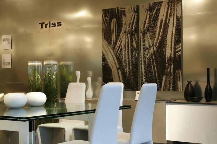 Stand TRISS, Maison et Objet, Paris-Villepinte. Scénographie et Design mural, Karine Montreuil, Atelier Kaali. http://design-mural.com/
