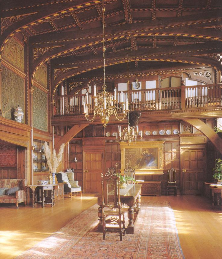 The Great Parlour At Wightwick Manor