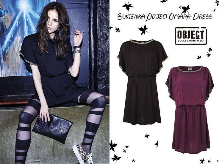 New Collection Object - Sukienka Object Omara Dress - http://www.dunkashop.com/product-pol-7754-Sukienka-Object-Omara-Dress-Fol-15.html