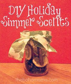 boho mama: DIY holiday simmering scents