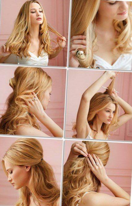 Frisuren selber machen geflochten
