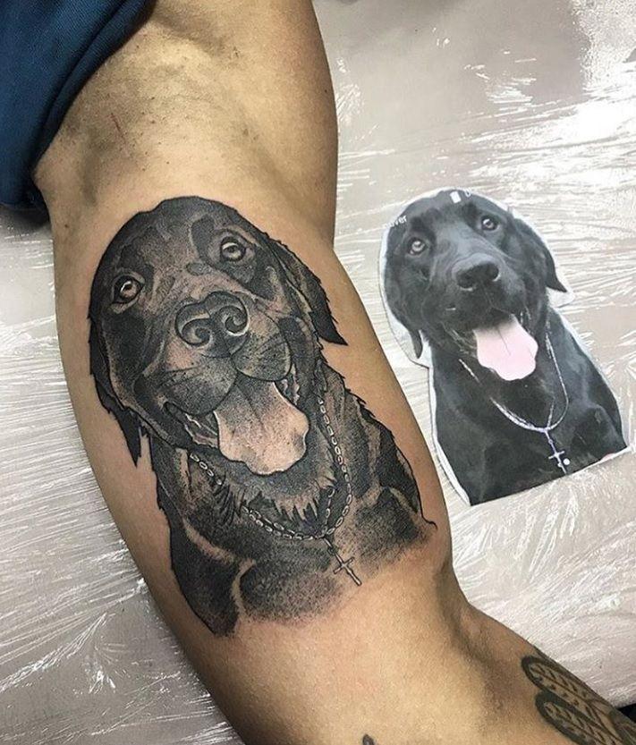 Labrador Retriever Dog Tattoos Gallery Labradorretriever