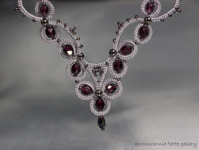 Warmia Koronczarnia's tatting with beads is very beautiful! Check out her website.