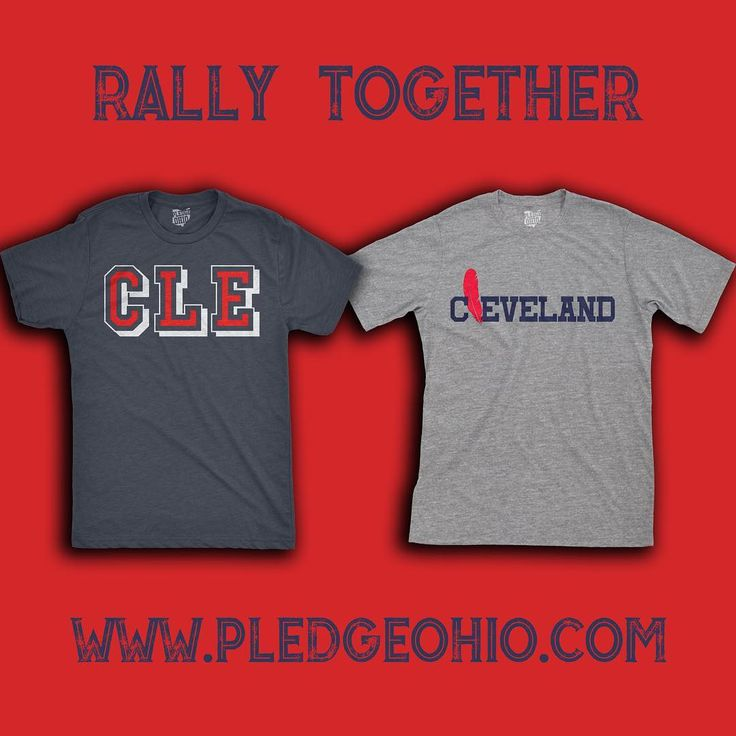"Rally with the latest Tees by @pledgeohio 10% OFF with code ""Rally"". Link In Bio @pledgeohio @pledgeohio @pledgeohio • • • #Cleveland #Indians #WINdians #MLB #GoTribe #RollTribe #Tribe #Cavs #Browns #NBA #NFL #DawgPound #RallyTogether #Believeland"