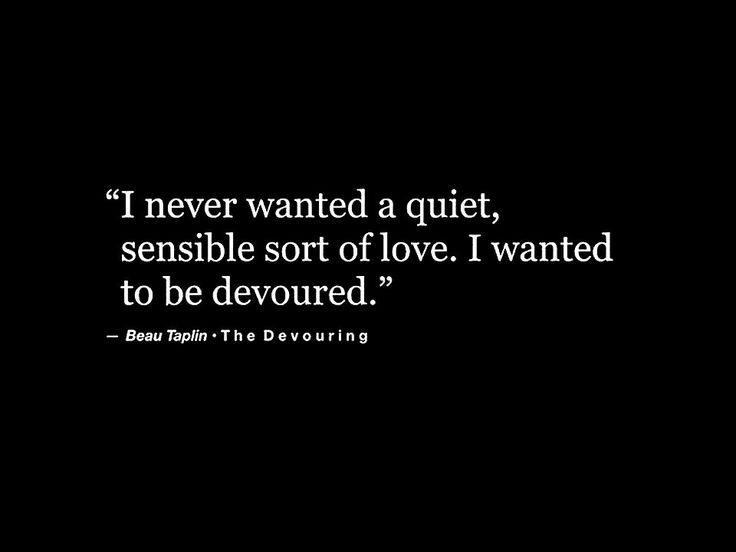 devoured by love