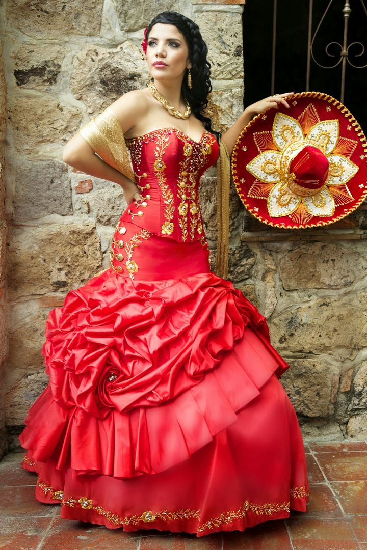 506671098a11227a28dbe36a5719d466 720 215 1080 In 2019 Mexican Quinceanera Dresses Charro