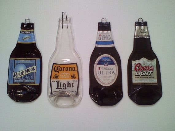 Custom Order for Wanda 4  Beer Bottles by Collectivekayos on Etsy