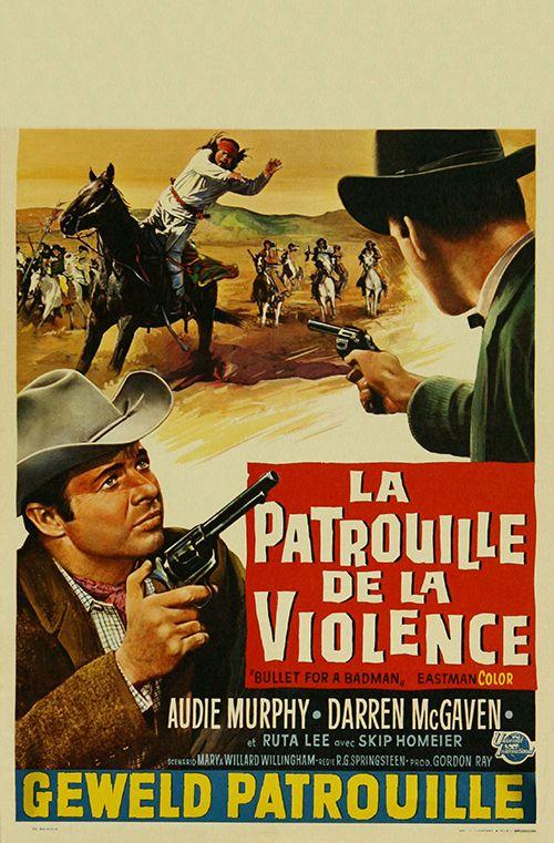 Bullet For A Badman 1964 Audie Murphy Hero Of War