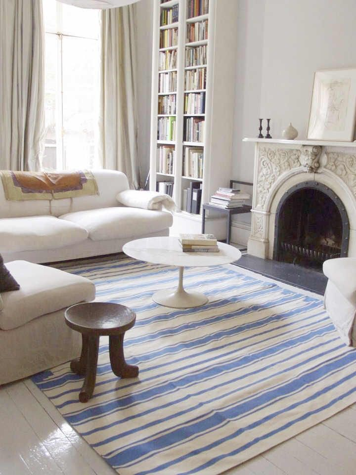 17 best ideas about striped rug on pinterest stripe rug - Carpets for living room online india ...