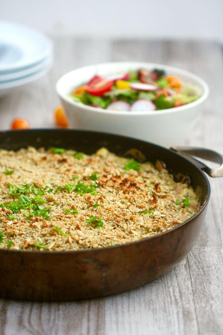 Best Ever Vegan Gluten Free Macaroni Cheese - 12 ingredients and only 20 minutes #healthy #plantbased #vegan #dairyfree #glutenfree #recipe #easy #vegetablepacked #family #pasta #begoodorganics
