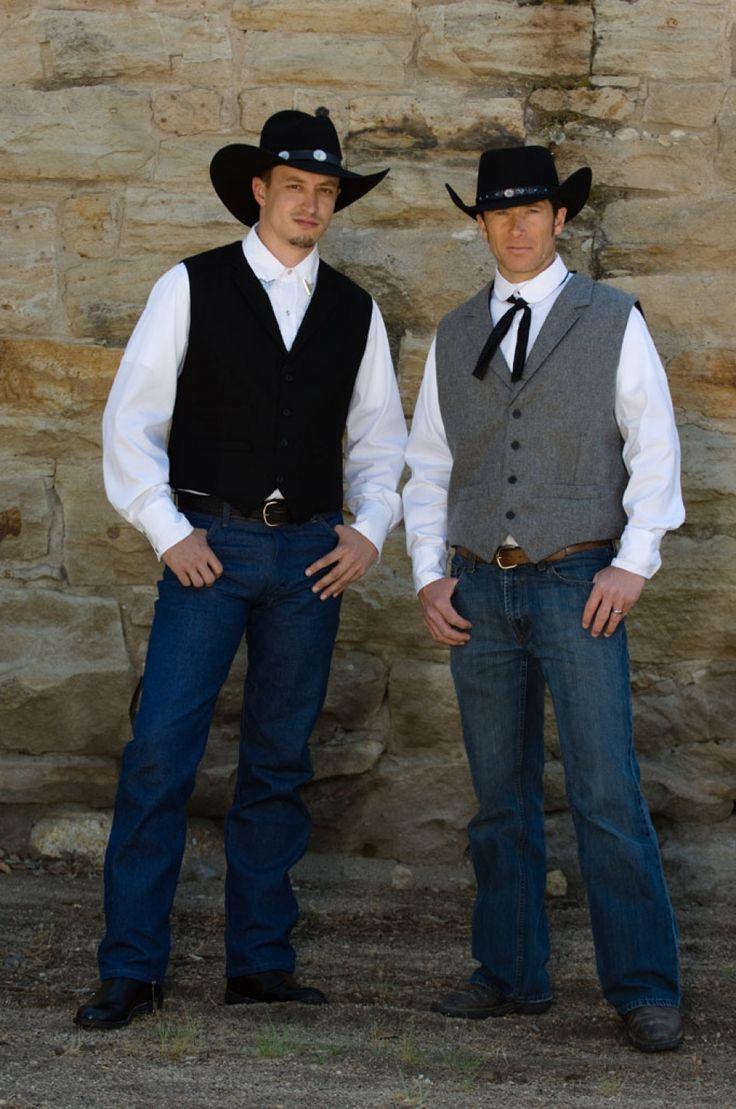 Wool Frontier Vest Wedding Cowboy wedding attire, Mens