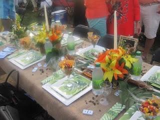 Cuban Table Decorations Havana Nights Party Pinterest