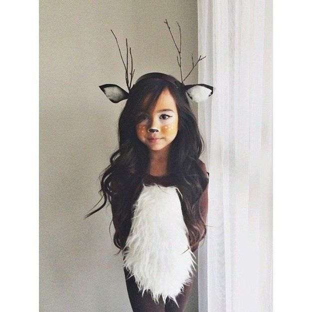 16 deer makeup and antler ideas for the cutest halloween costume - Beauty Halloween Costume