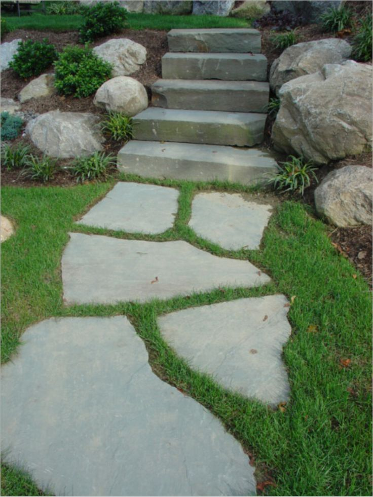 limestone stepping stones - Google Search