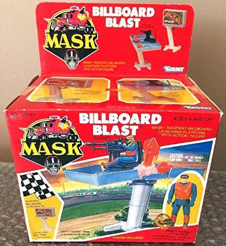 Billboard Blast MASK vehicle toy