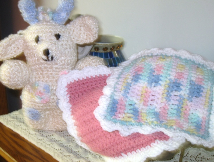 Knitted or Crochet Baby Face Cloths - sold in sets of 3 for $8.00