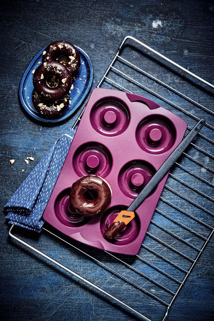 We donut know about you, but we love our SBF Rings! Create the perfect breakfast or dessert bites in just minutes. #Tupperware