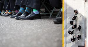 Fun Groom Socks - it's all in the details