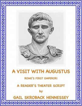 Studying the Romans and would like an activity to do with your students? Learn about Augustus with this fun/informative play as Augustus is a guest on a talk show. There are comprehension questions, a Did You Know? Section, a Teacher page with extension activities, the key and additional links.Try my other reader's theater scripts:Leonardo da VinciMichelangelo,Columbus ,Bessie Coleman,Marian Anderson,Hans Christian Andersen,Aesop,Archemedes,Julius Caesar,Pericles,Alex the Great and more.
