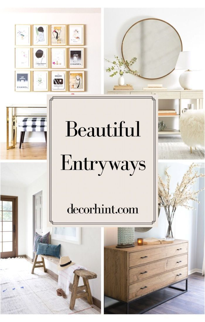 Snag Entryway Decor Ideas from these 11 Beautiful Spaces ...