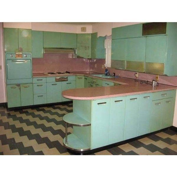 137 best Retro images on Pinterest | Retro kitchens, Dream kitchens ...