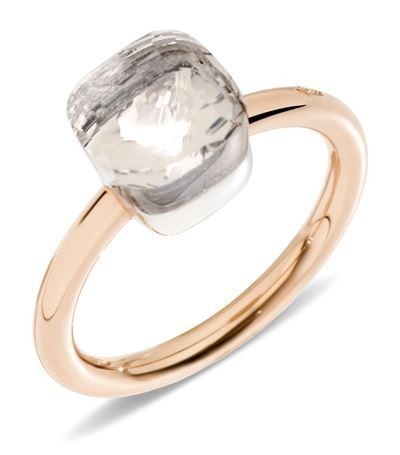 Pomellato Nudo White Topaz Mini Ring available to buy at Harrods. Shop women's designer jewellery online and earn Rewards points.