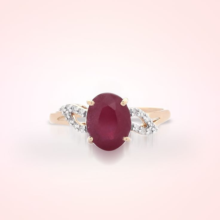 Ruby Ring in Gold | Gemporia India