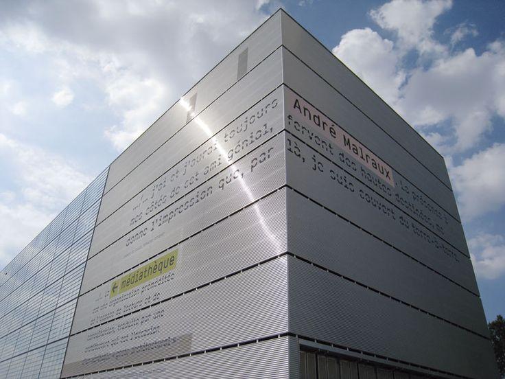 intégral Ruedi Baur Paris – bibliothèque André Malraux Strasbourg