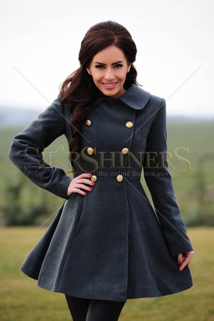 LaDonna Life Serenity Grey Coat