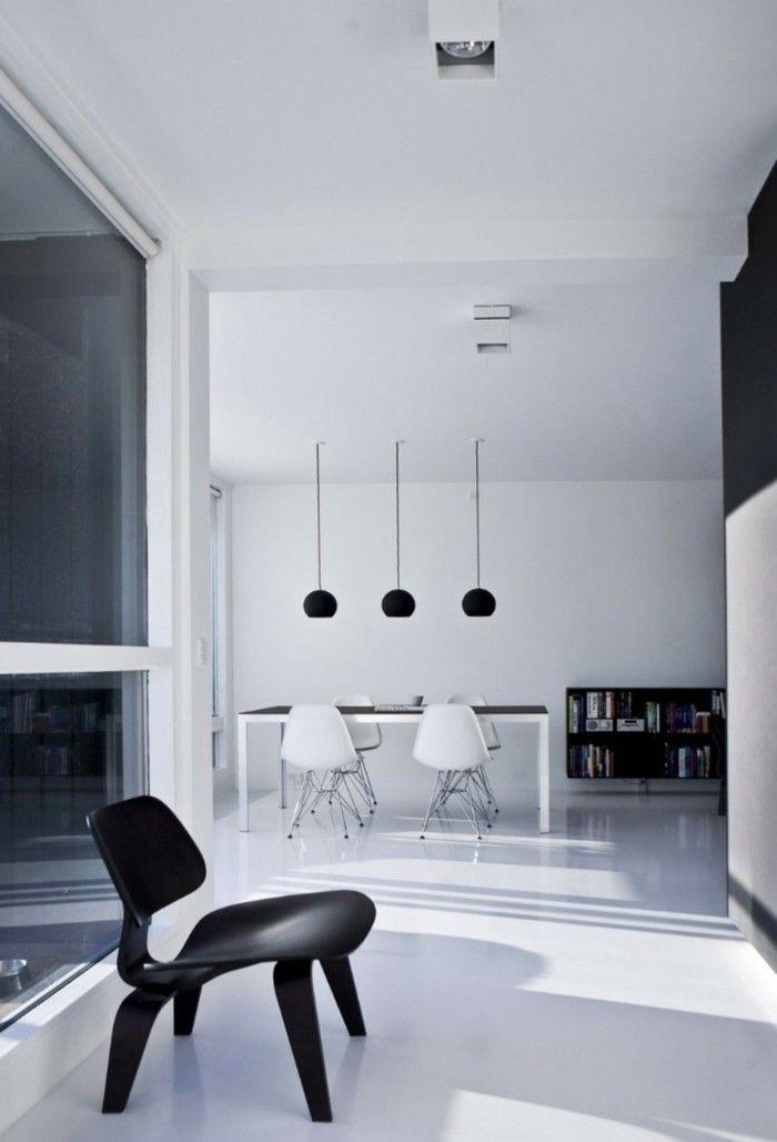 wohnung mit minimalistischem weisem interieur design new york, minimalistisch wohnen - 54 einrichtungsideen für schlichte, Design ideen