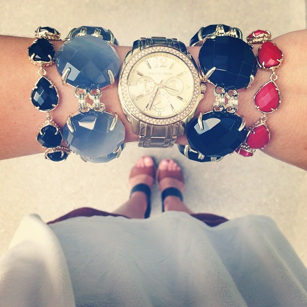 loving arm candy + watches.