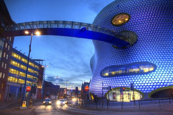 Selfridges Birmingham by Future Systems
