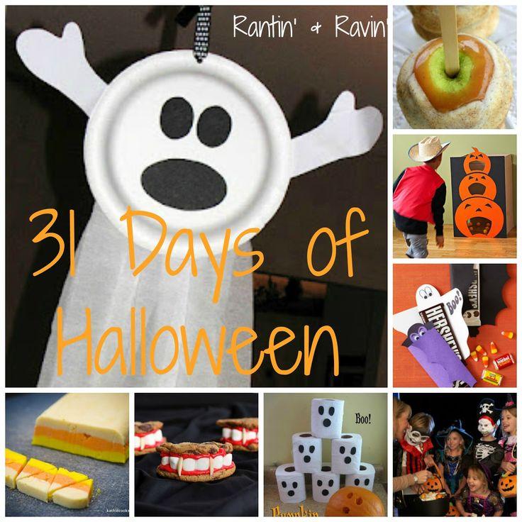 Rantin' & Ravin': 31 DAYS OF HALLOWEEN!!!