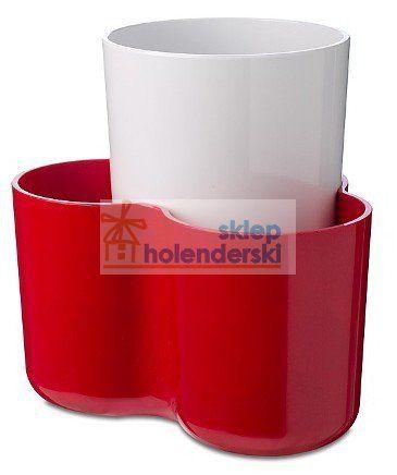 Organizer kuchenny stojak na łyżki przybory czerwony - ROSTI - Akcesoria kuchenne