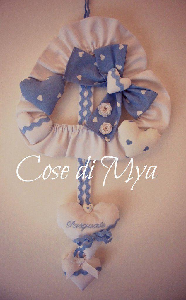 Fiocco Nascita Rosa, by COSE DI MYA, 35,00 € su misshobby.com