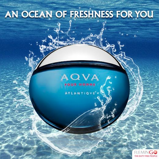 Introducing #Bvlgari Aqva Atlantique for #men. Embark on a #refreshing voyage that mirrors ocean's energy and spirit with vibrant notes.