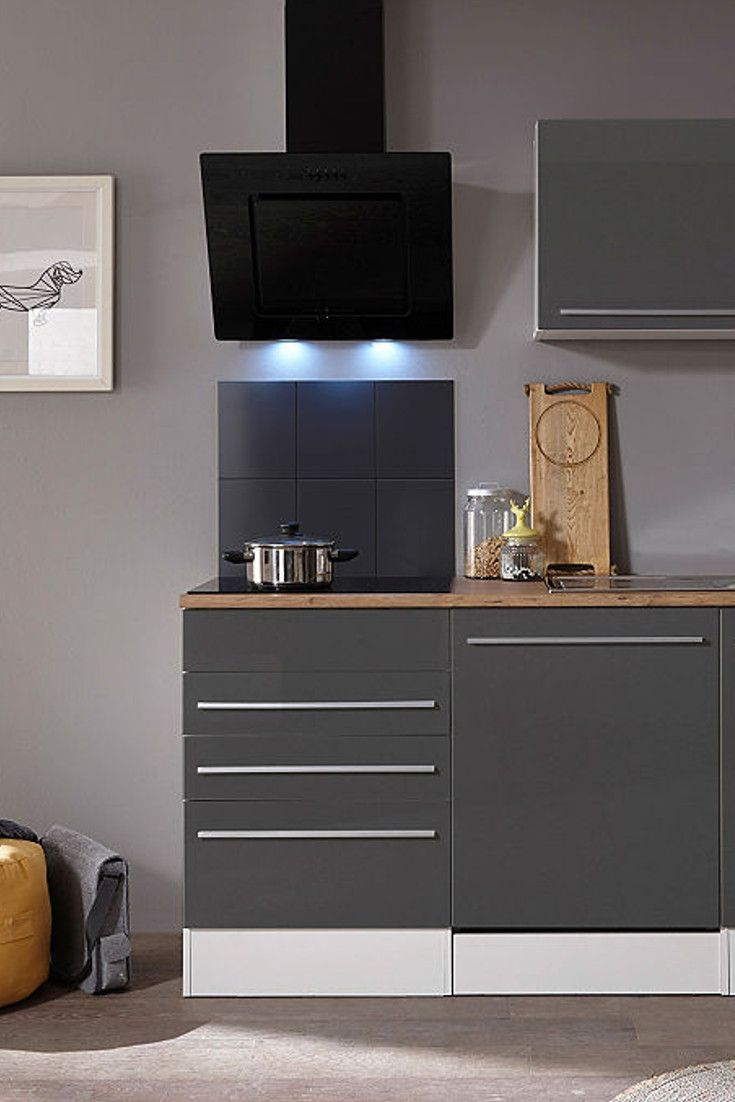 Malerisch Küchenzeile Mit Geräten Foto Von Respekta Küchenzeile E-geräten »palmaÂ«, Gesamtbreite 290 Cm