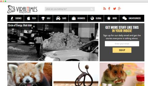 ViralTimes – Best ViralNova Clone WordPress Theme to Start Viral Content Site
