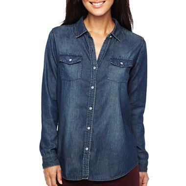 47 best images about comfy shirt on pinterest ladies t for Liz claiborne v neck t shirts