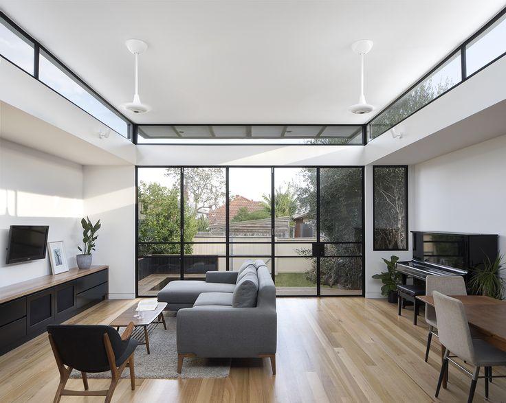 Curvy house by Ben Callery Architects. Photo by Tatjana Plitt. #interior #design #home