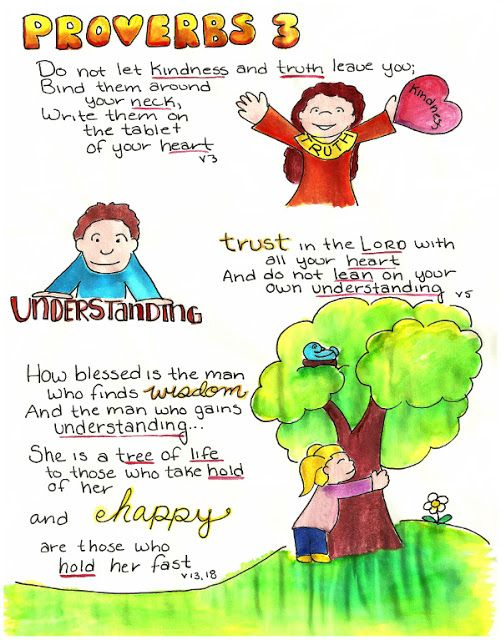 Doodle Through The Bible: Proverbs 3  Illustrated Faith Journal entry for Good Morning Girls (GMG) Bible Study, Free printable PDF Coloring page link at the website.