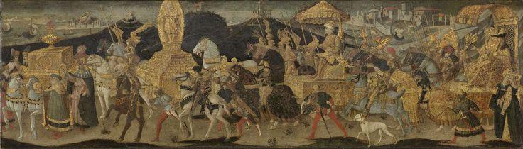 Darius Marching to the Battle of Issus, Apollonio di Giovanni, c. 1450 - c. 1455