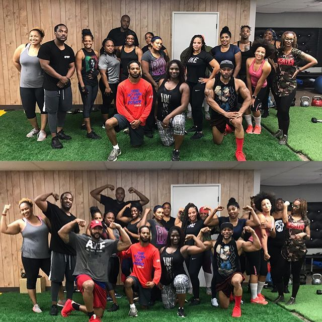Packed house, great energy. Another awesome @keddlesthenics class. Thanks to everyone that came out💪🏾💪🏾💪🏾 fullbody #kettlebell #howbaddoyouwantit #gohardorgohome #keddlesthenics #decatur #getresultswitkd #calisthenics #fitness #instafit #atl